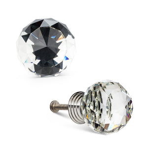Crystal Small Ball Knob