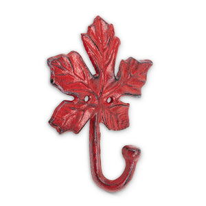 Maple Leaf Hook Red