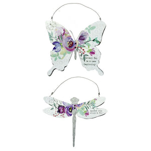 Butterfly and Dragonfly Decor
