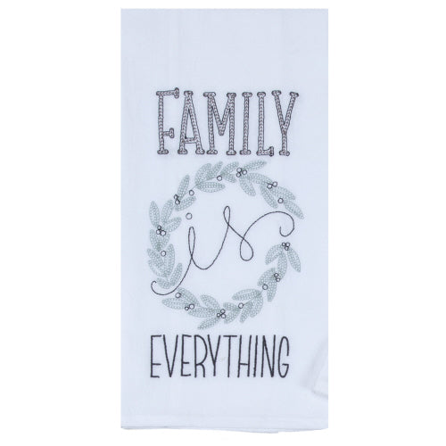 Family is Everything Flour Sack