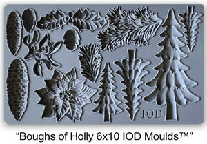 "Mould-Boughs of Holly ""Limited Edition Design"""