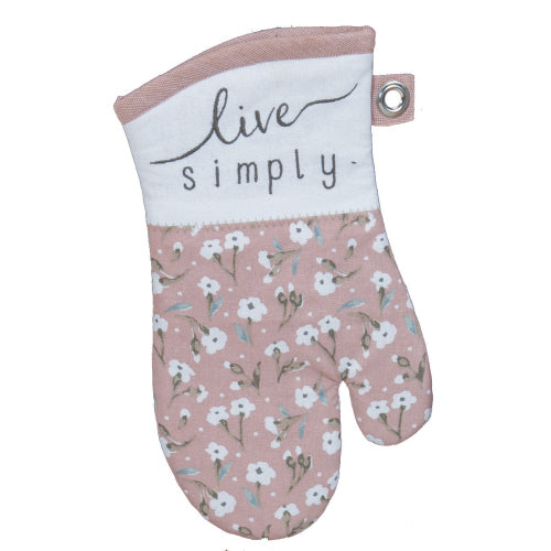 Live Simply Oven Mitt