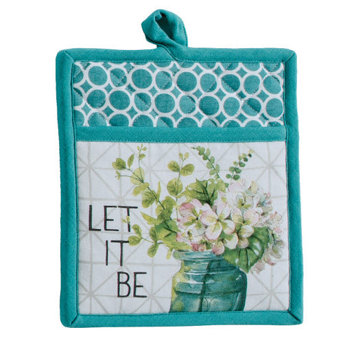 Let it Be -Greenery Pocket Mitt
