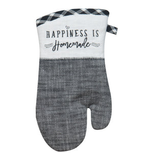 Happiness if Homemade - Farmhouse Oven Mitt