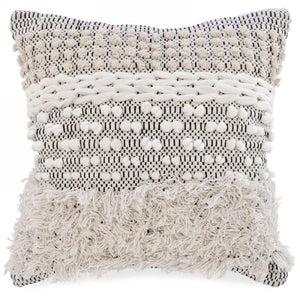 Fringe and Loop Cushion