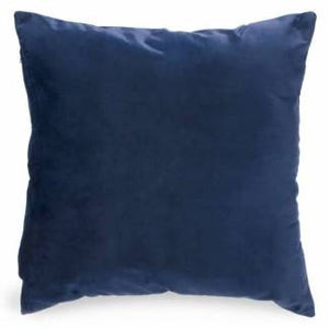 Royal Blue Velvet Cushion