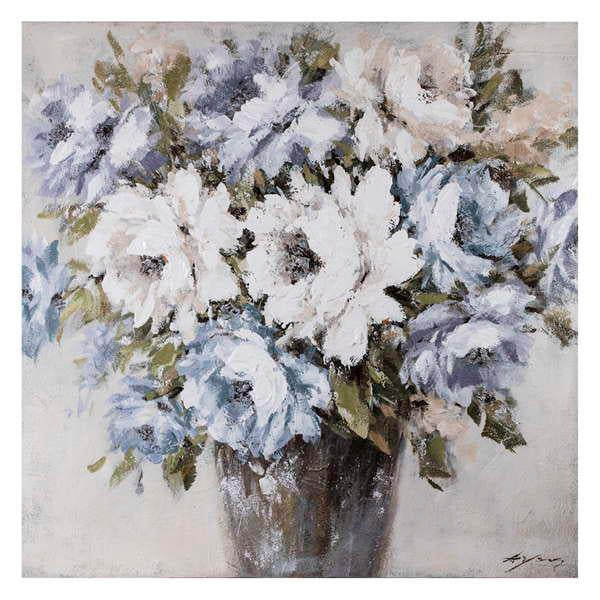 Canvas - Flowers in Vase