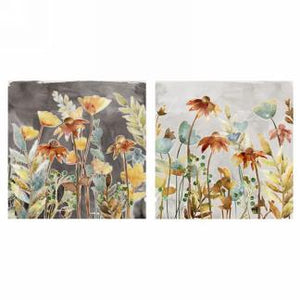 Canvas - Echinacea Flowers (2 Versions)