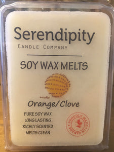 Orange Clove Scent Soy Wax Melt