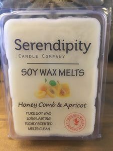 Honeycomb Apricot Scent Soy Wax Melt