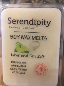 Lime Sea Salt Scent Soy Wax Melt