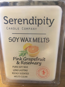 Pink Grapefruit Rosemary Scent Soy Wax Melt