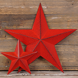 Red Metal Star
