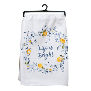 Life is Bright Flour Sack