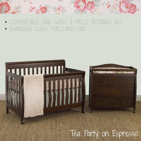 Furniture Pacakge & 3pc Bedding Set