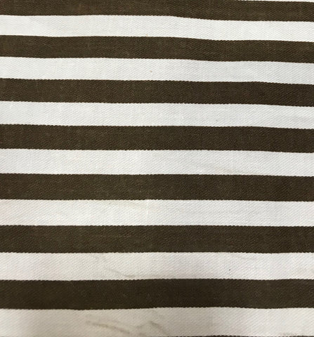 Animal Tracks Striped Fabric - 3yds.