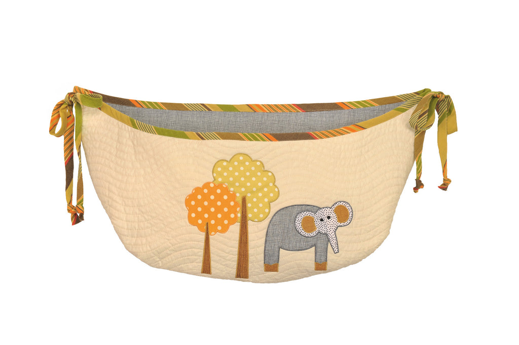 Cotton Tale Designs Elephant Brigade Toy Bag
