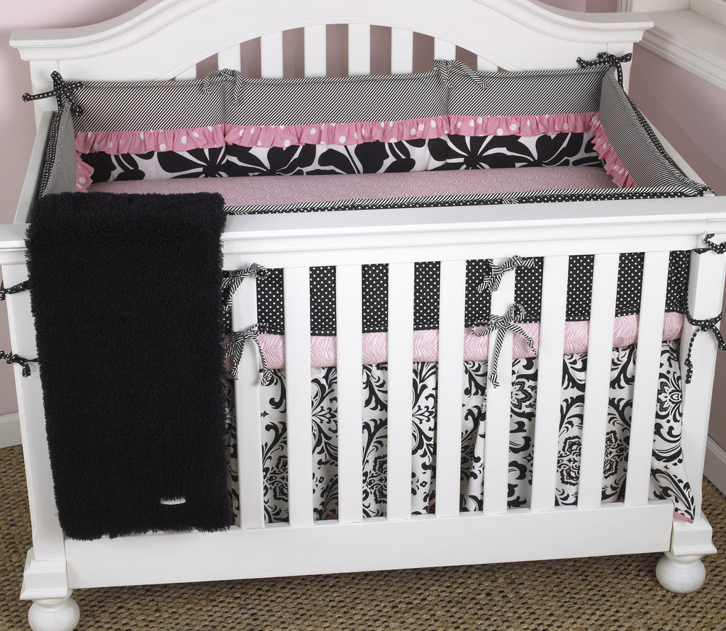 Cotton Tale Designs Girly 4pc crib bedding set
