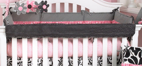 Crib Rail Cover Girly Collection
