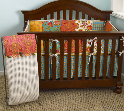 Gypsy Floral Crib Bedding Set