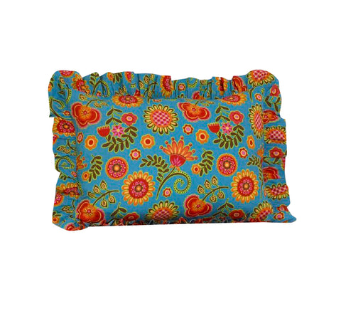Gypsy Flower Ruffled Pillow Sham