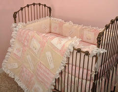 Cotton Tale Designs Heaven Sent Girl 4pc crib bedding set