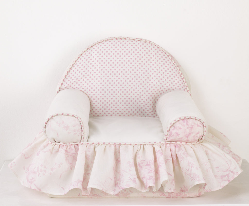 Cotton Tale Designs Heaven Sent Girl Baby's 1st Chair