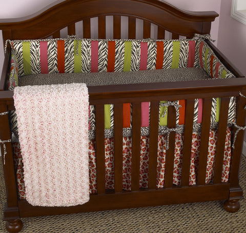 Here Kitty Kitty 4pc Crib Bedding Set
