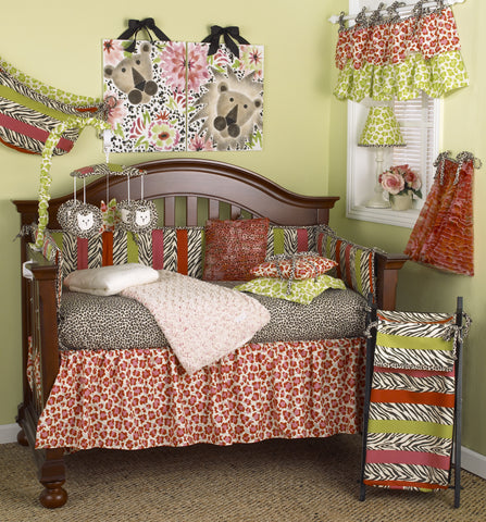 Here Kitty Kitty 7pc Crib Bedding Set