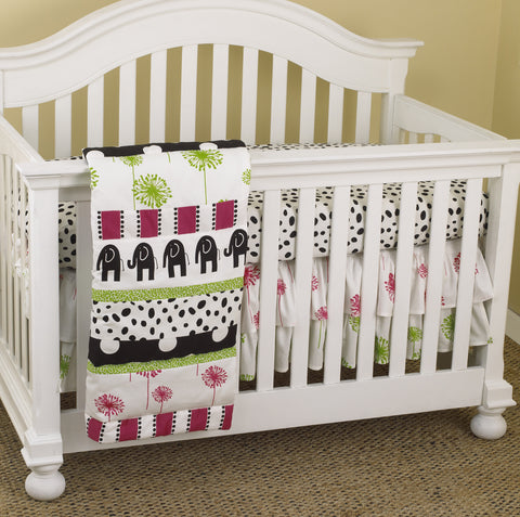 Hottsie Dottsie 3pc Crib Bedding Set