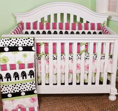 Cotton Tale Designs Hottsie Dottsie 4pc crib bedding set