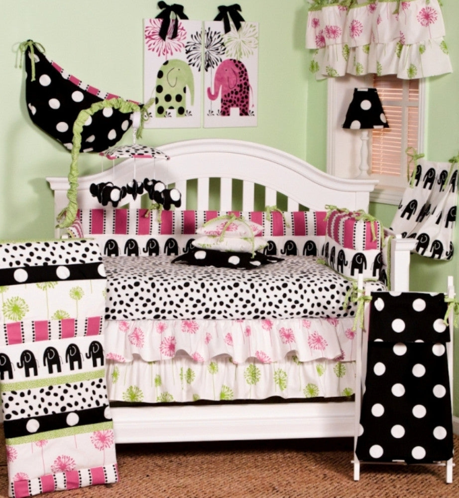 Cotton Tale Designs Hottsie Dottsie 7pc crib bedding set