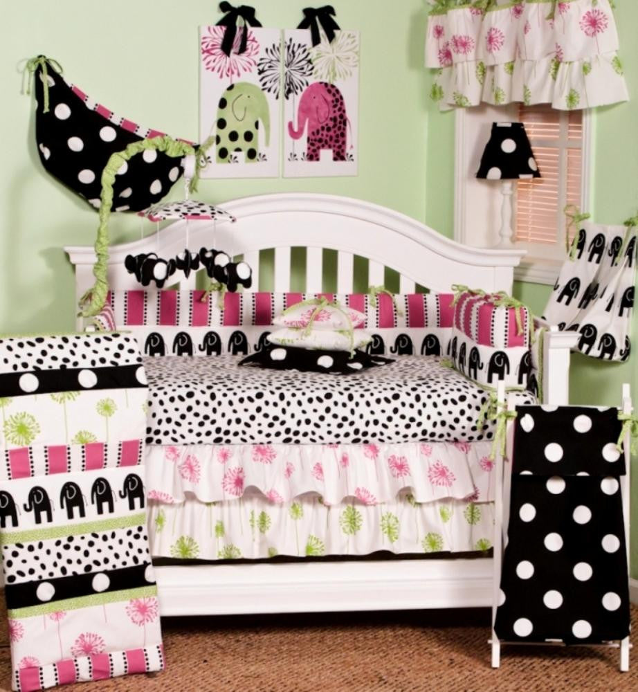 Cotton Tale Designs Hottsie Dottsie 8pc crib bedding set