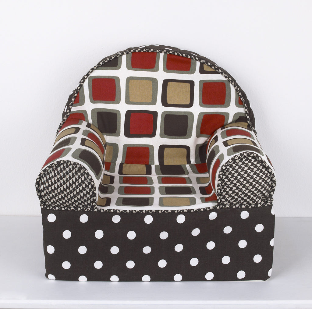 Cotton Tale Designs Houndstooth Baby's 1st Chair