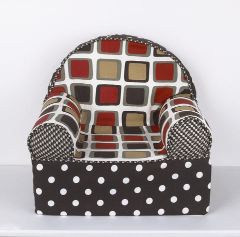 Houndstooth Baby's 1st Chair