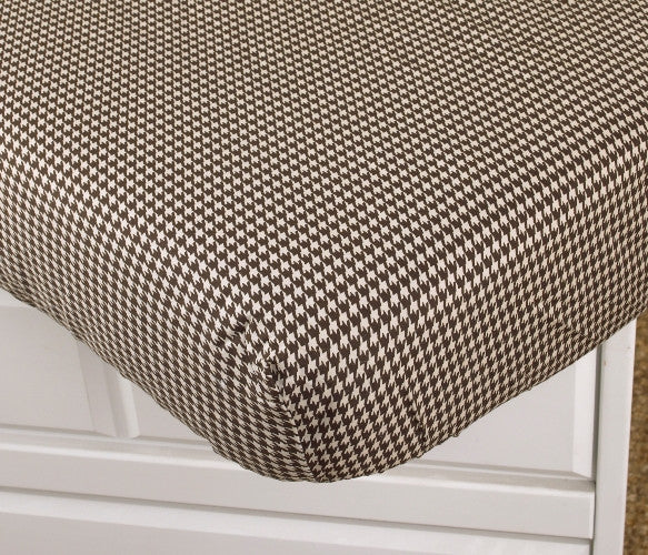 Cotton Tale Designs Houndstooth Fitted Crib Sheet