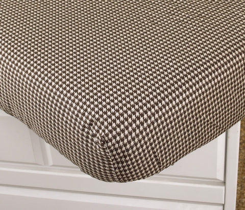 Houndstooth Fitted Crib Sheet