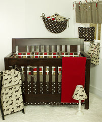 Houndstooth 4PC Twin Set