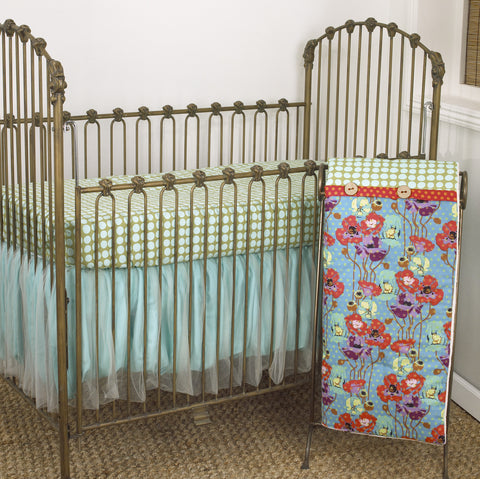 Crib Bedding Set Lagoon Collection 3 PC