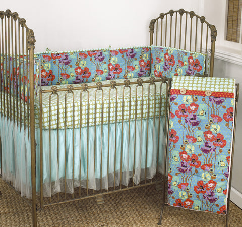 Crib Bedding Set Lagoon Collection 4 PC