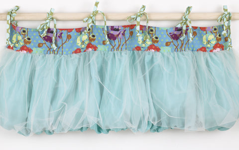 Nursery Window Valance Lagoon Collection