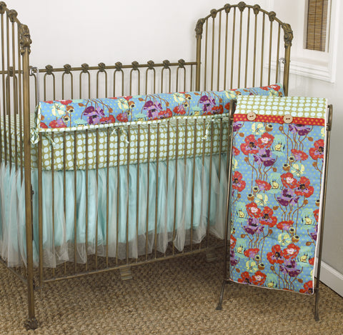 Lagoon 4PC Crib Rail Set