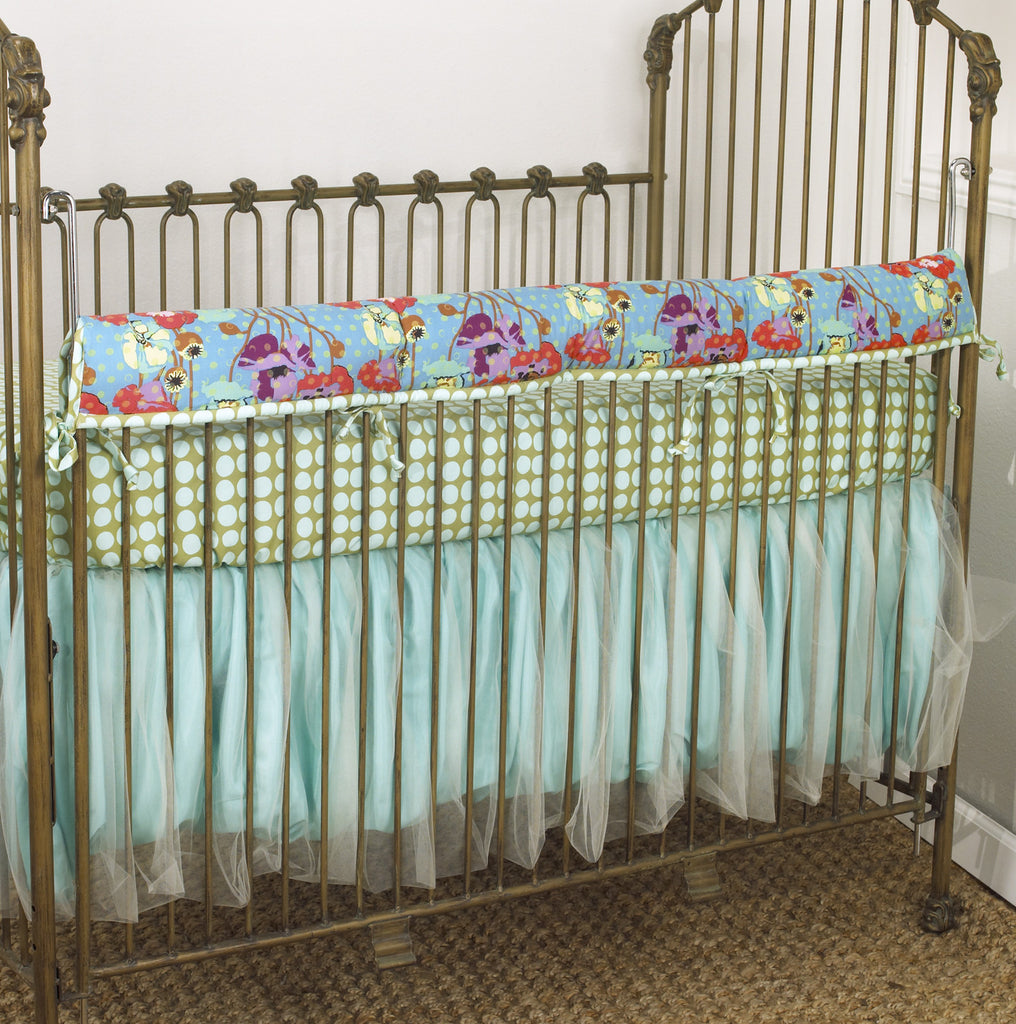 Lagoon Crib Rail Cover