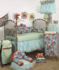 Crib Bedding Set Lagoon Collection 8 PC Set