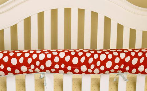 Red and White Spot Front Rail Cover-up Lizzie Collection