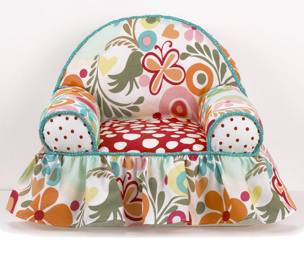 Floral Baby S 1st Chair Baby Floral Nursery