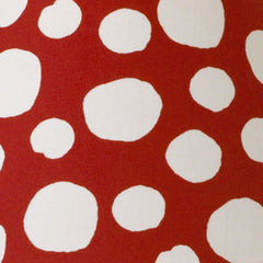 Red & White Dot Twin Dust Ruffle Lizzie Collection