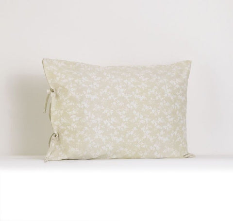 Lollipops & Roses Plain Pillow Case w/Ties