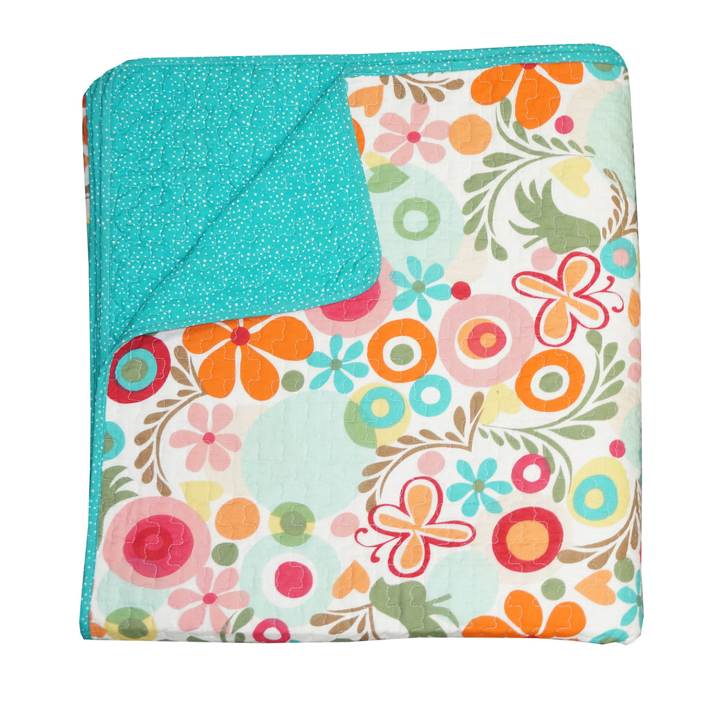 Floral Twin Quilt Lizzie Collection