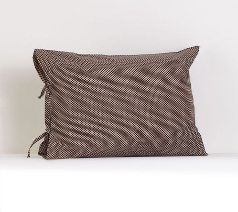 Nightingale Plain Pillow Case w/Ties